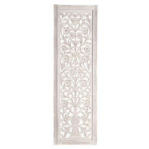 MAISONS DU MONDE - panneau blanch - Zierpaneel