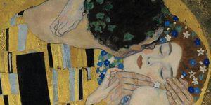 Nouvelles Images - affiche le baiser (détail) - Plakat