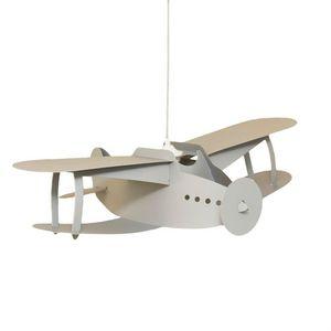 Rosemonde et michel  COUDERT - avion biplan - Kinder Hängelampe