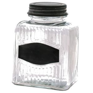 CHEMIN DE CAMPAGNE - bocal bonbonnière de style ancien en verre de cuis - Glas