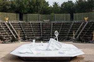 STÉPHANE THIDET - intallation bruit blanc - Skulptur