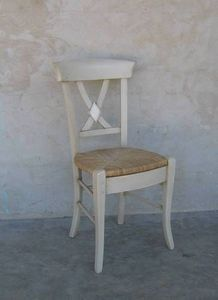 Coup De Soleil - carla - Stuhl Mit Korbsitzfläche