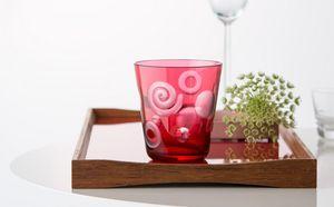 Rotter Glas - margarete - Glas