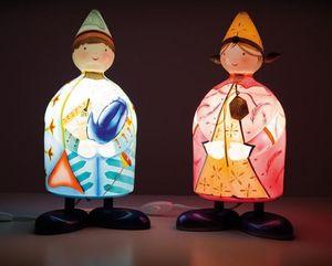 L'Oiseau Bateau - la magicienne - Kinder Tischlampe