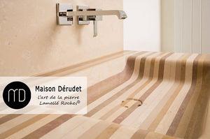 Maison Derudet - lamellé roches-- - Waschbecken