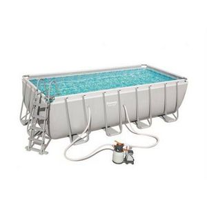 Bestway -  - Pool Mit Stahlohrkasten