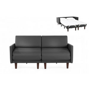 Likoolis - pacduo80l-grnegro - Schlafcouch