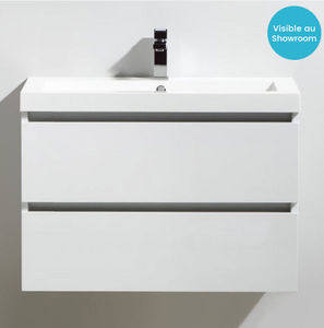 Thalassor - city 80 bianco - Waschtisch Möbel