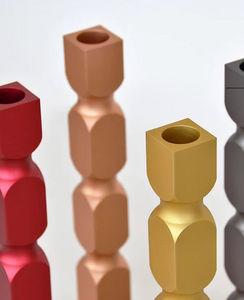 L'ALUFACTURE - le set de 4 balougie - Kerzenständer