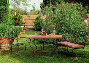 Enzo Zago -  - Gartentisch