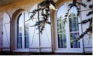 Voltec -   - Fenstertür, Zweiflügelig