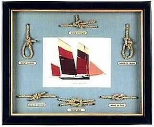 Compagnie Des Isles -   - Seemannsrahmen