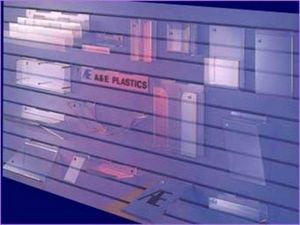 A & E Plastic Fabrications -  - Verkaufsregal