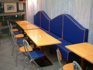 SKa France - banquette voile - Restaurantbank
