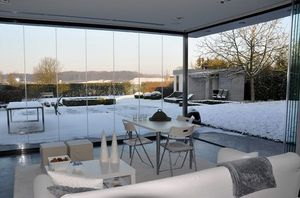 SLIDING GLAss -  - Glasfensterfront