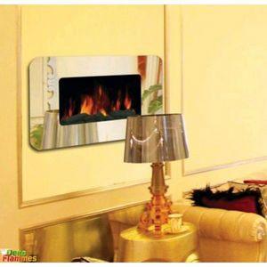 deko-flammes - cheminée électrique fliuxus 1950 - Elektrischer Kamin