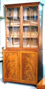 ERNEST JOHNSON ANTIQUES - bookcase - Vitrinen Schrank