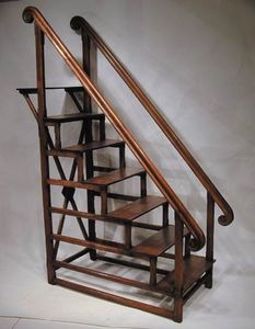 BAGGOTT CHURCH STREET - library steps ladder - Regalleiter