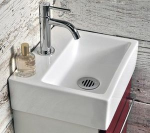 Atlantic Bain - lavabo carré - Handwaschbecken