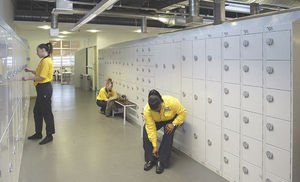Link 51 (storage Products) - lockers - Büro Garderobe