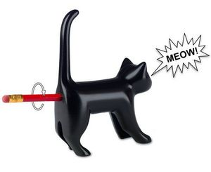 Luckies of London - sharp-end cat's bum pencil sharpener - Anspitzer