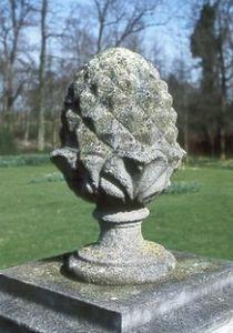 Chilstone - epi de faîtage ananas - Pinienzapfen
