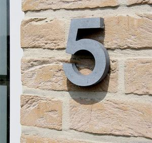 Signum Concept - contour - Hausnummerschild