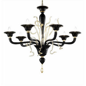 Turina Design  - Murano Lux Lighting - classici contemporanei lighting - Kronleuchter Murano