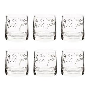 MAISONS DU MONDE - coffret 6 verrines all you need - Glas