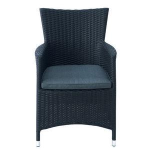 MAISONS DU MONDE - fauteuil noir antibes - Gartensessel