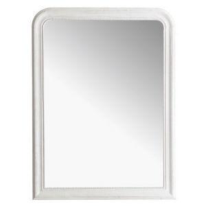 Maisons du monde - miroir louis blanc 90x120 - Spiegel