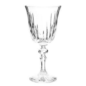 MAISONS DU MONDE - verre à eau cristal taillé - Stielglas