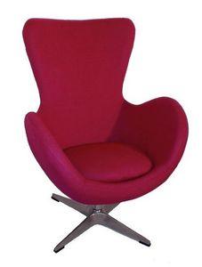 Mathi Design - fauteuil cocoon tissu - Sessel