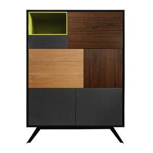 Mathi Design - meuble norvège vert - Kabinettschrank