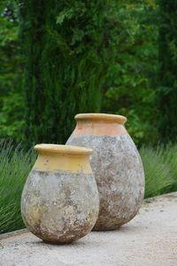 Poterie de La Madeleine -  - Garten Blumentopf