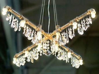 ALAN MIZRAHI LIGHTING - x chandelier - Deckenlampe Hängelampe