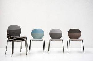 Tacchini - kelly v - Stapelbare Stühle