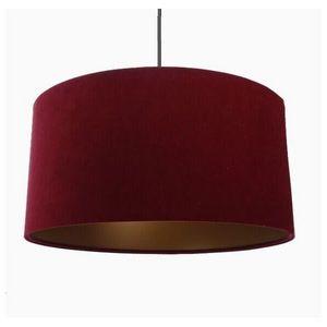 Mathi Design - suspension or rouge - Deckenlampe Hängelampe