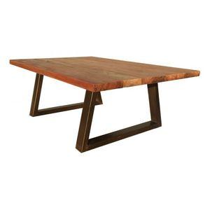 Mathi Design - table basse brooklyn - Rechteckiger Couchtisch