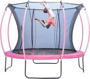 Plum - trampoline junior avec protection réversible turqu - Trampolin