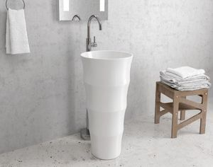 ITAL BAINS DESIGN - lavabo totem g308 - Waschbecken