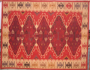 Red Rugs -  - Kelim
