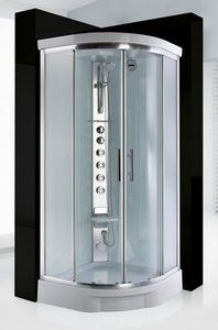 Hydra-Spa - light 1 r90 steam cabin - Hydromassage Duschkabine