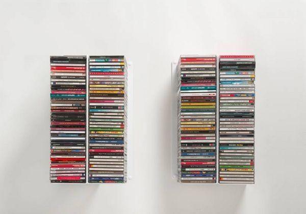 TEEBOOKS - CD-Möbel-TEEBOOKS-Lot de 4