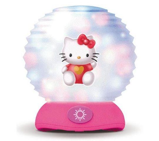 IMC TOYS - Kinderwecker-IMC TOYS-Veilleuse nomade Hello Kitty