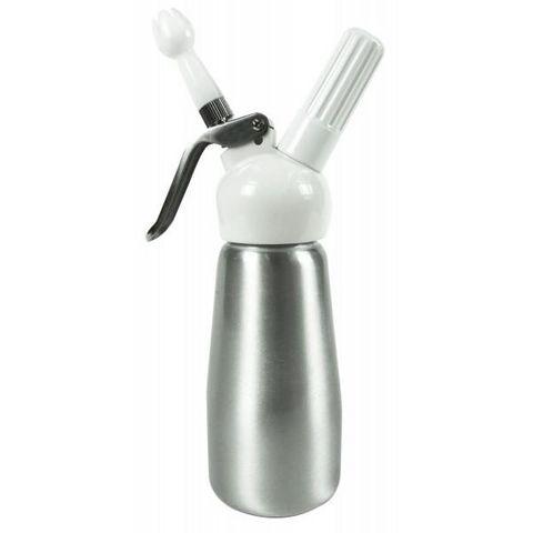 Yoko design - Sahnesiphon-Yoko design-Siphon 250 ml Aluminium brossé