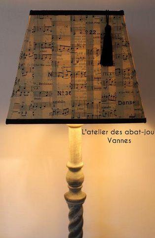 L'ATELIER DES ABAT-JOUR - Rechteckigen Lampenschirm-L'ATELIER DES ABAT-JOUR