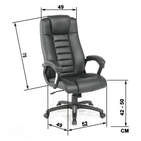 WHITE LABEL - Direktionssessel-WHITE LABEL-Fauteuil de bureau chaise ergonomique