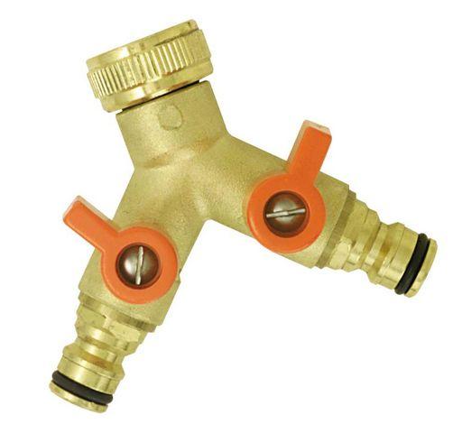BOUTTE - Gartenwasserhahn-BOUTTE-Nez sélecteur circuit 2 vannes automatiques en lai