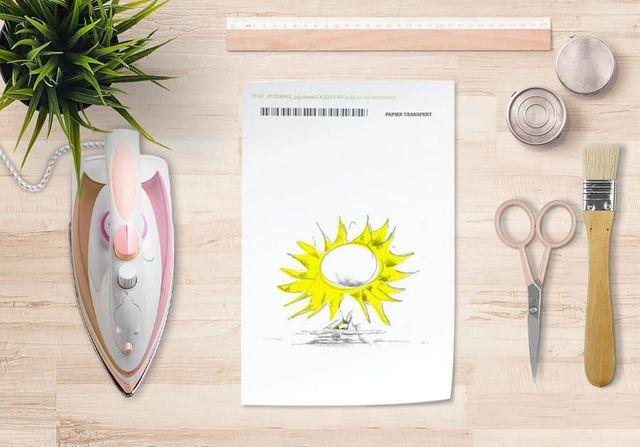 la Magie dans l'Image - Verlegung-la Magie dans l'Image-Papier transfert Soleil